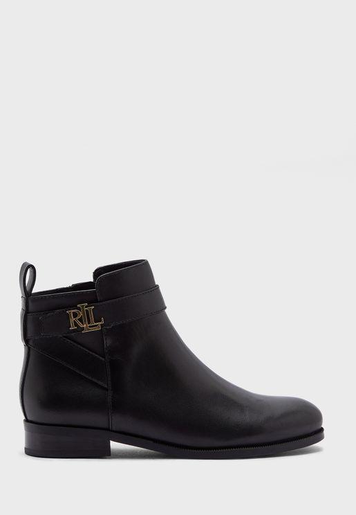 Bonne Low Heel Ankle Boot
