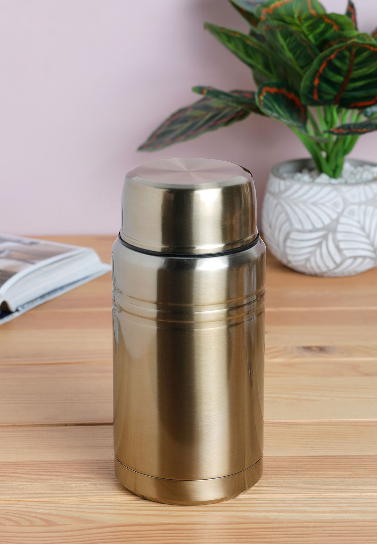 Manhattan Food Flask With Foldable Spoon
