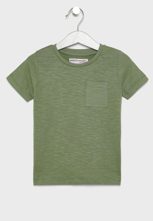 Infant Pocket Detail T-Shirt