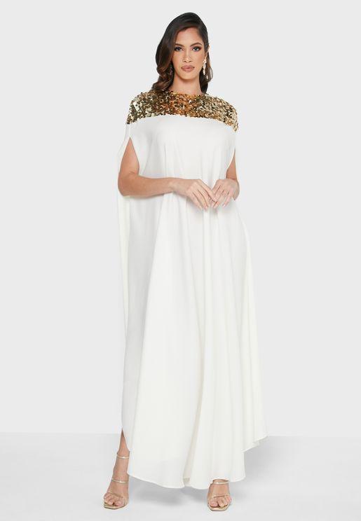 Embellished Detail Dress