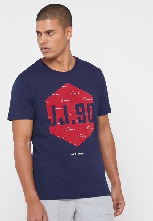 Law Crew Neck T-Shirt
