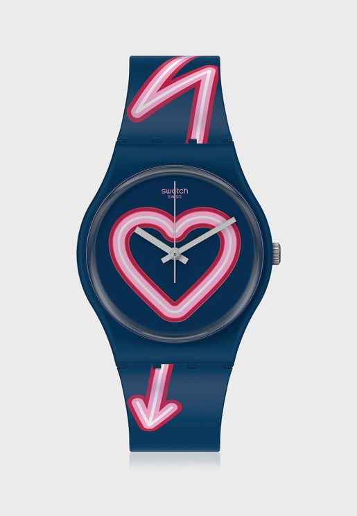 Flash Of Love Analog Watch