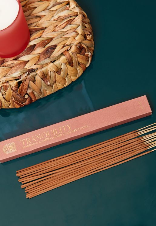 20 Pack Incense Sticks Mandarin & Sandalwood