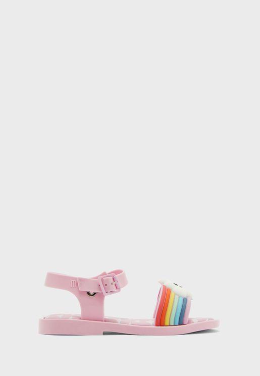 Kids Sunny Day Rainbow Strap Sandal