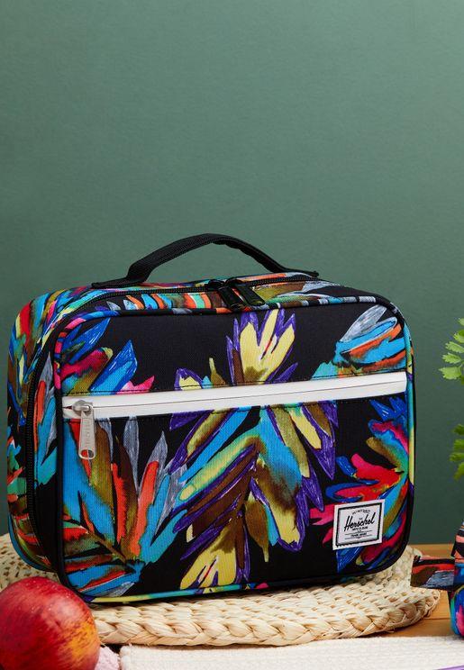 Palm Leaf Printed Lunch Box