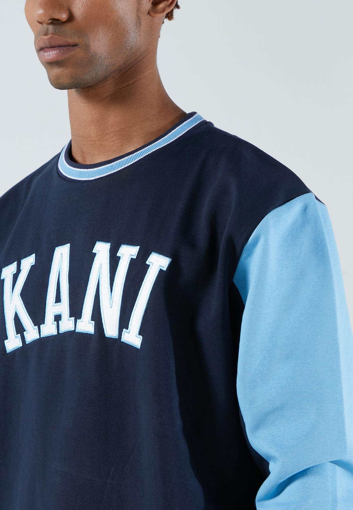 College Colour Block Sweatshirt