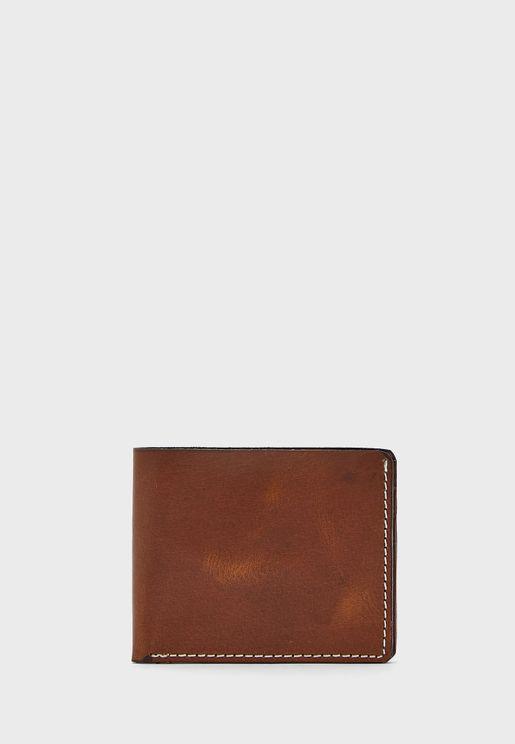 Soft Genuine Leather Men's Wallet
