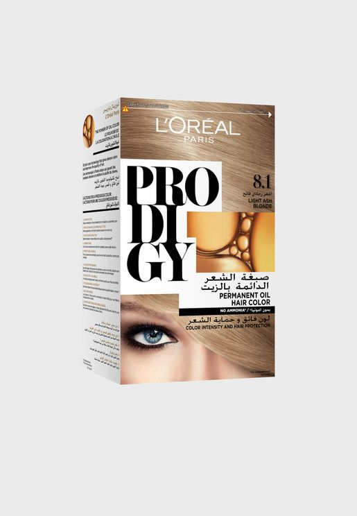 Prodigy Permanent Hair Color 8.1 Platine