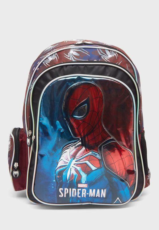 Kids Zip Closure Backpack