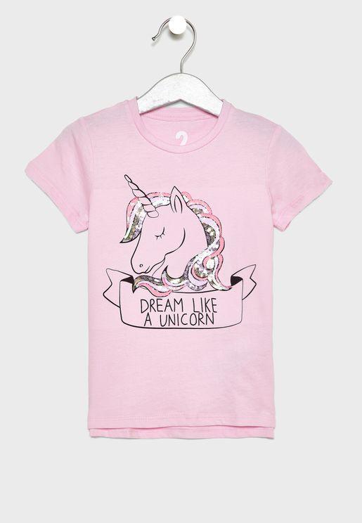 Kids Unicorn T-Shirt