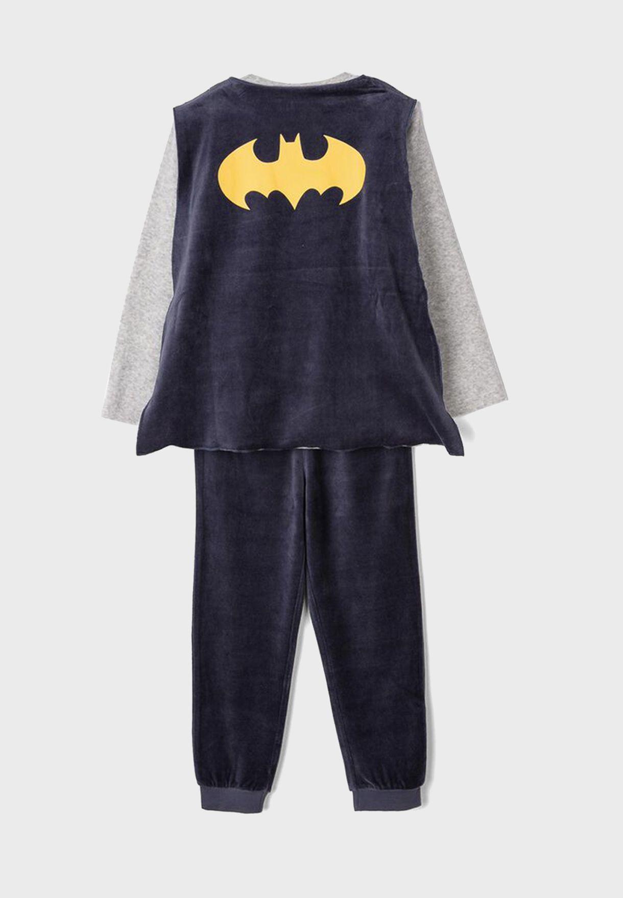 طقم بيجاما باتمان للاطفال