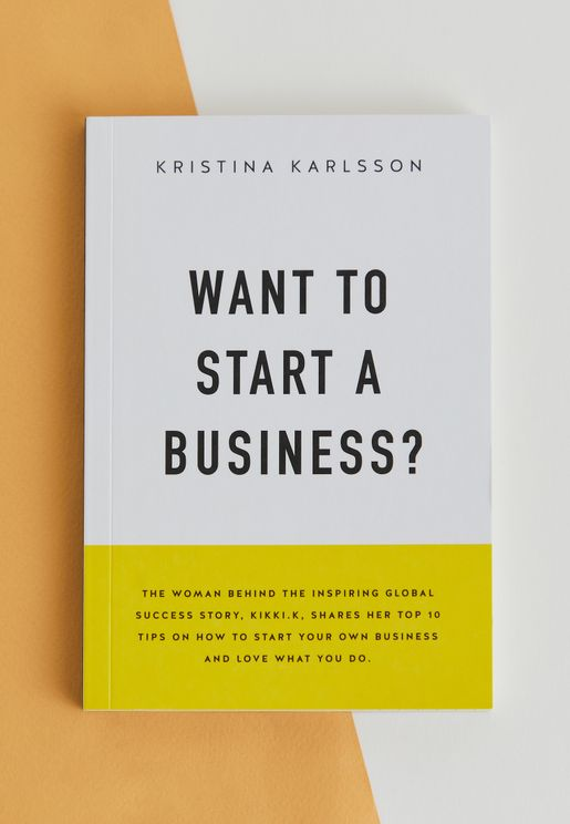 كتاب Want To Start A Business?