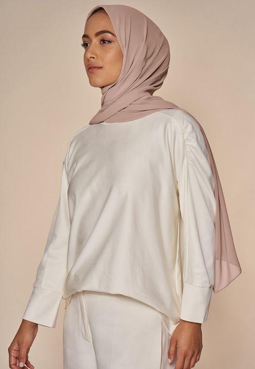 حجاب شيفون شفاف