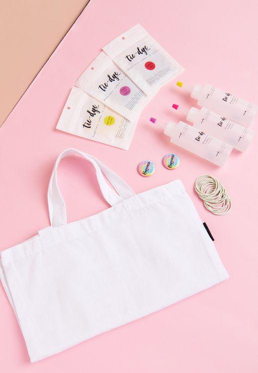 DIY Tote Bag Tie Dye Kit