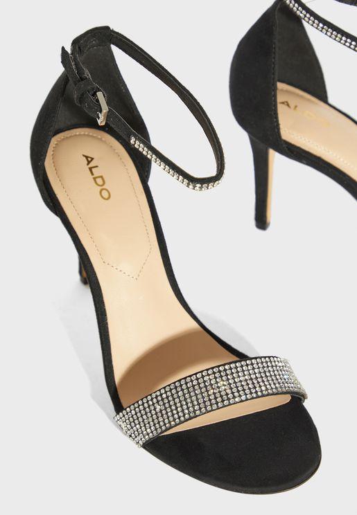 Alodien Ankle Strap High Heel Sandal