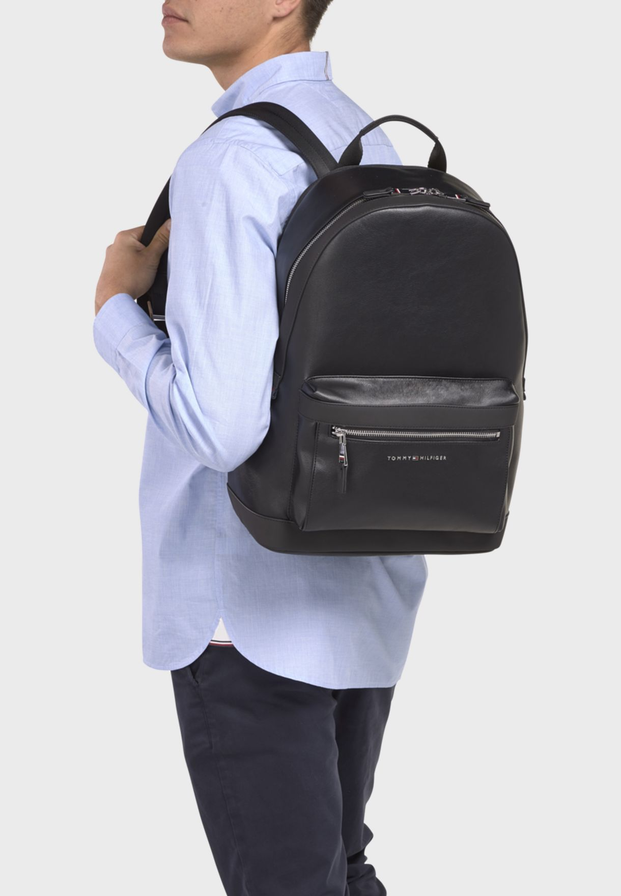 Metro Zip Detail Backpack