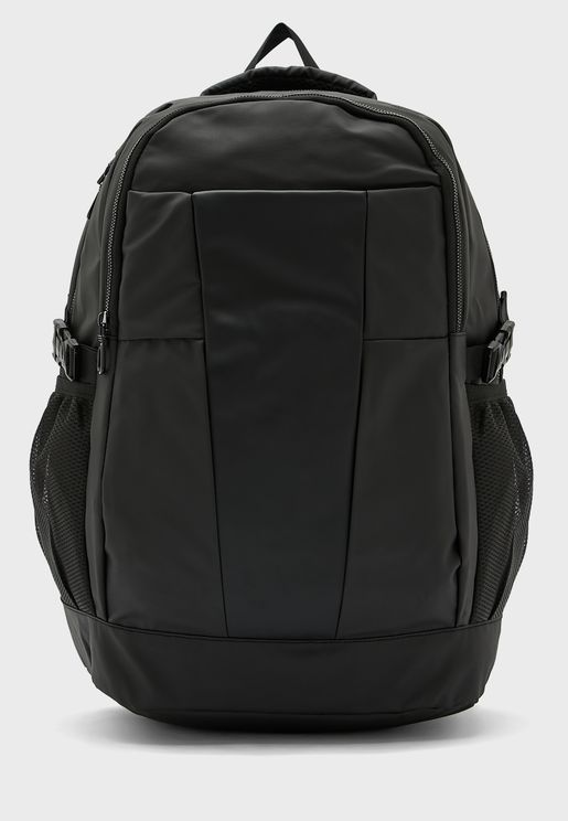 Backpack With Laptop Partition And Multiple Pockets