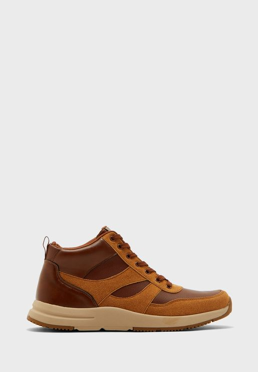 Padded Casual High Top Sneakers