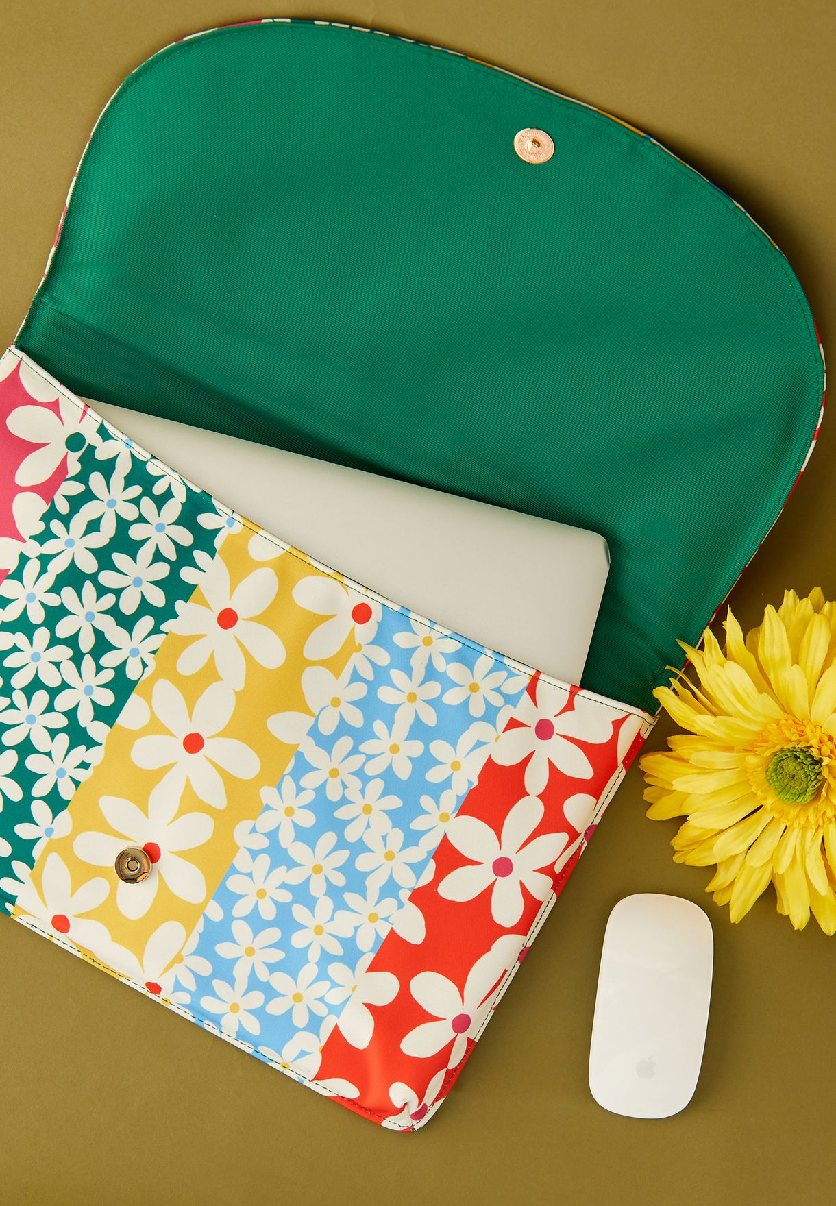 Floral Print Laptop Sleeve