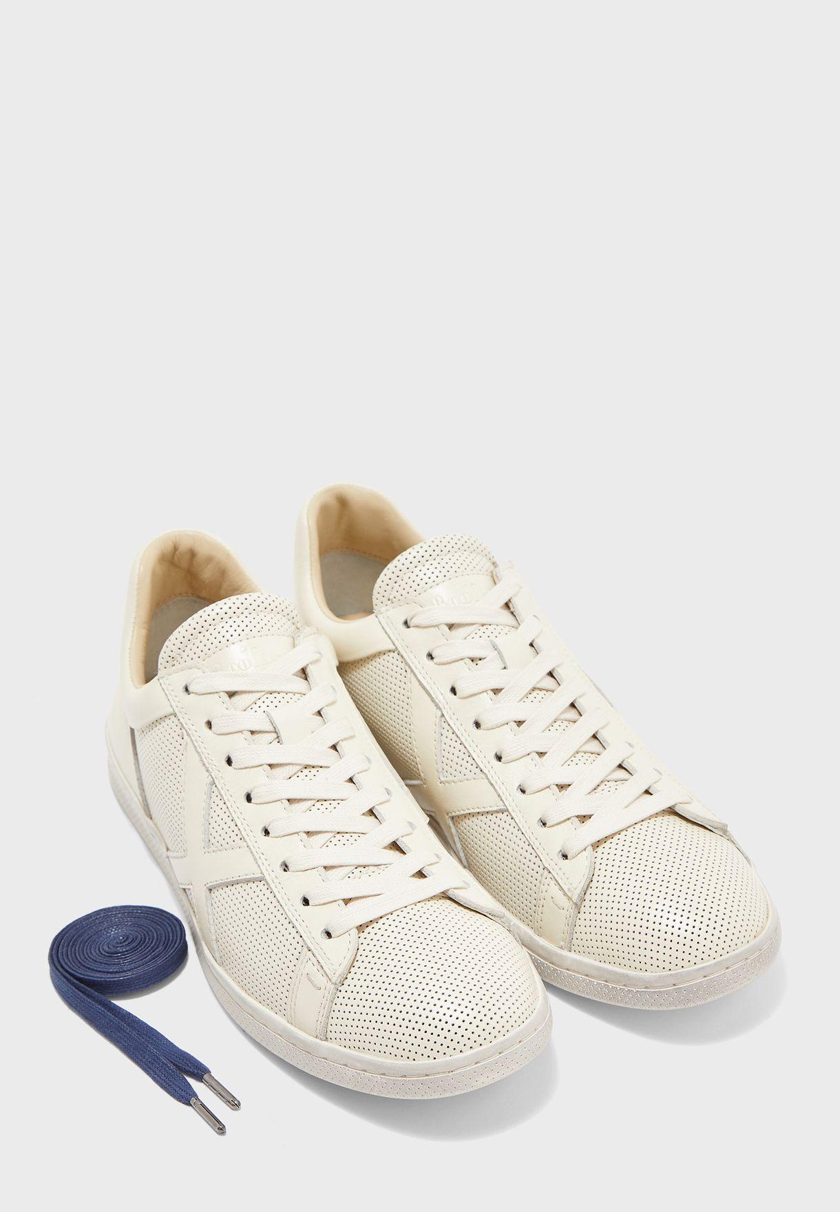 Tumbled Calf Sneakers