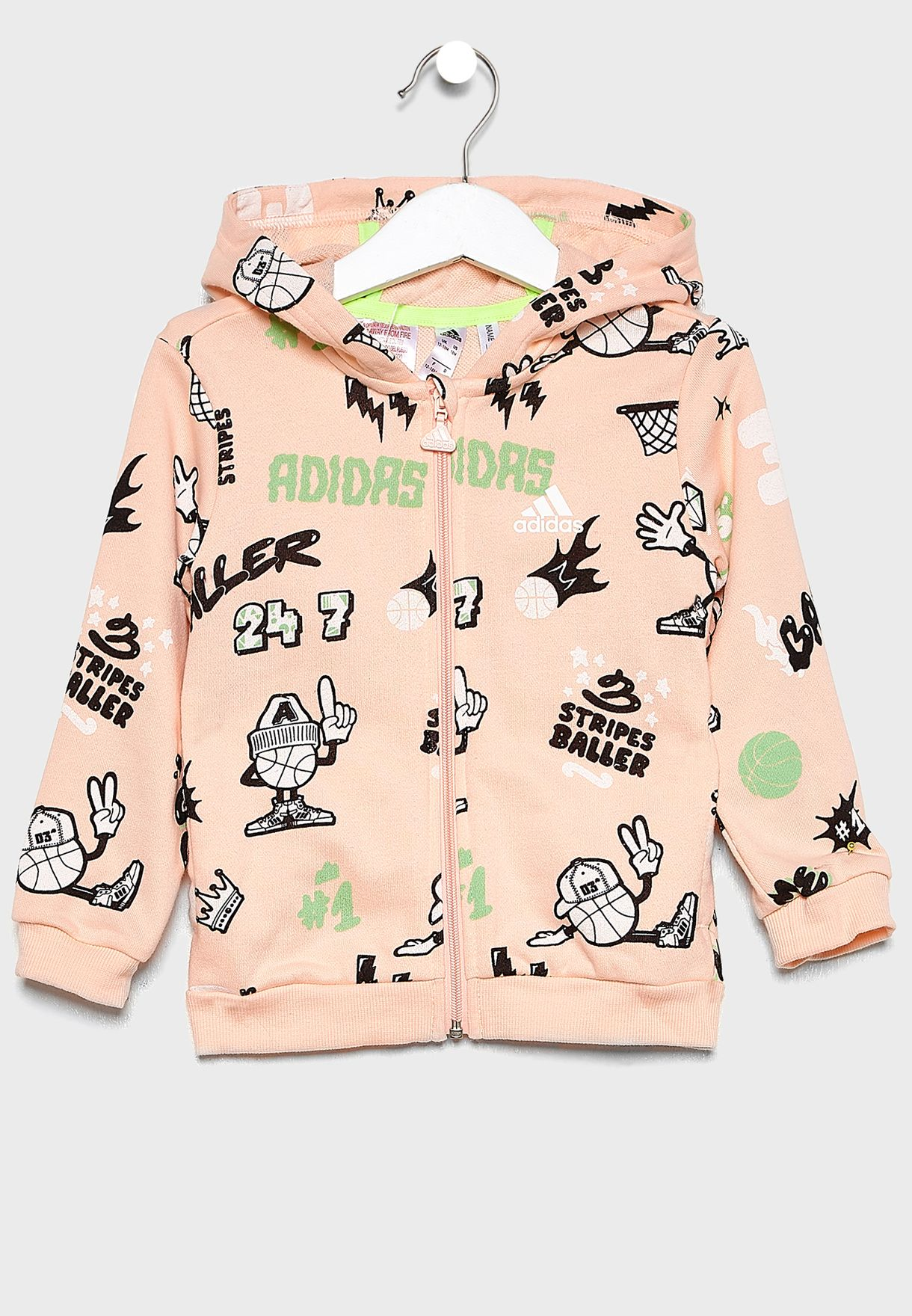Infant Graphic Hooded Tracksuit