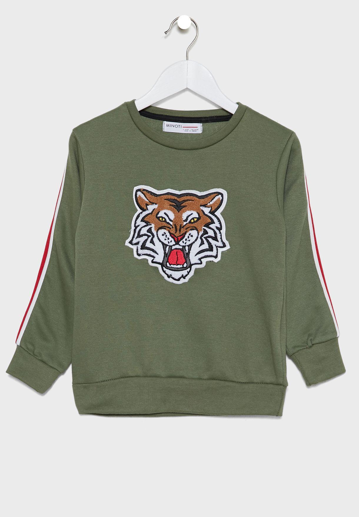 بدلة رياضية بطباعة نمر