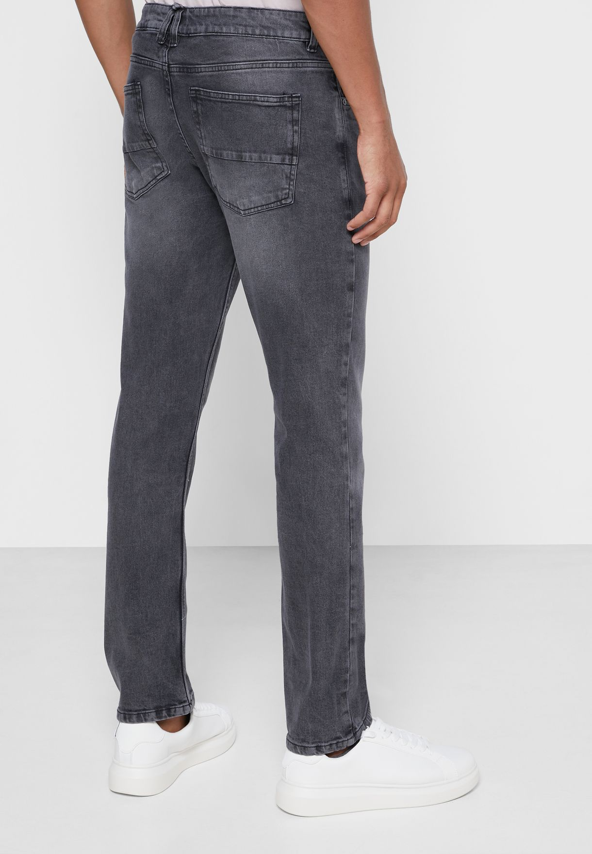 Washed Slim Fit Jean