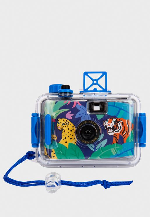 Jungle Underwater Polaroid Camera