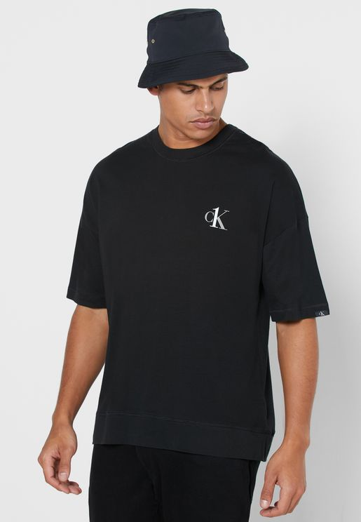 Chest Logo Crew Neck T-Shirt