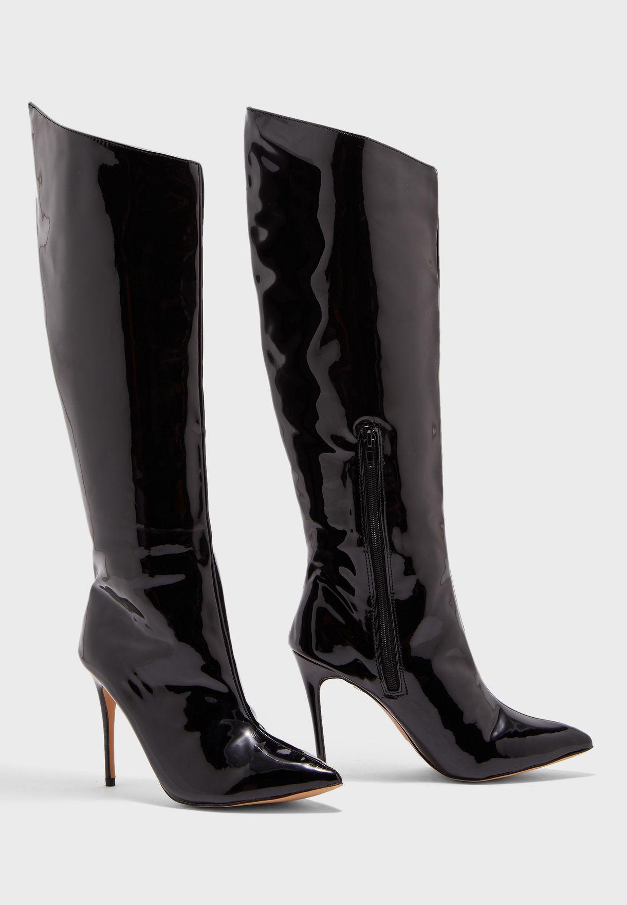 Thriller High Knee Boot
