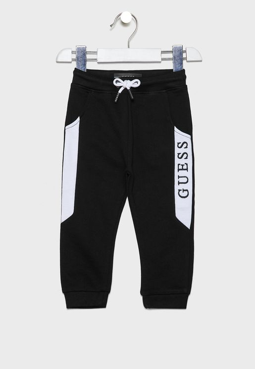 Kids Tie Waist Detail Sweatpants