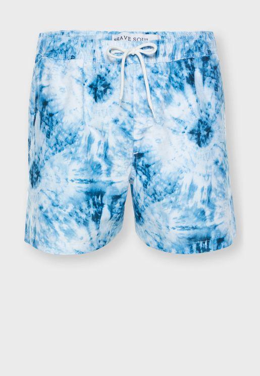 Tye Dye Swim Short