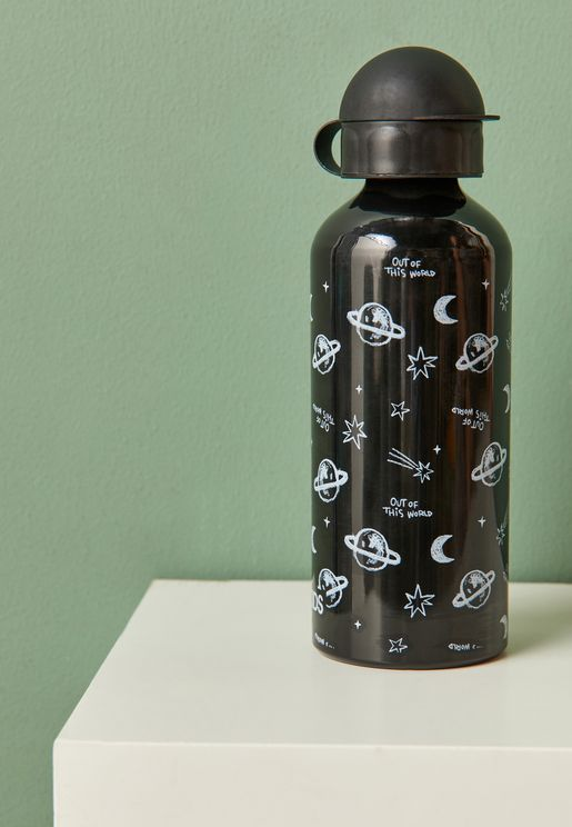 Aluminium Space Drink Bottle - 600 ml