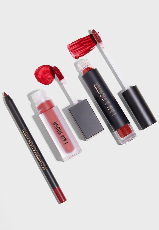 Deep Red Lip Kit - I Am Fabulous