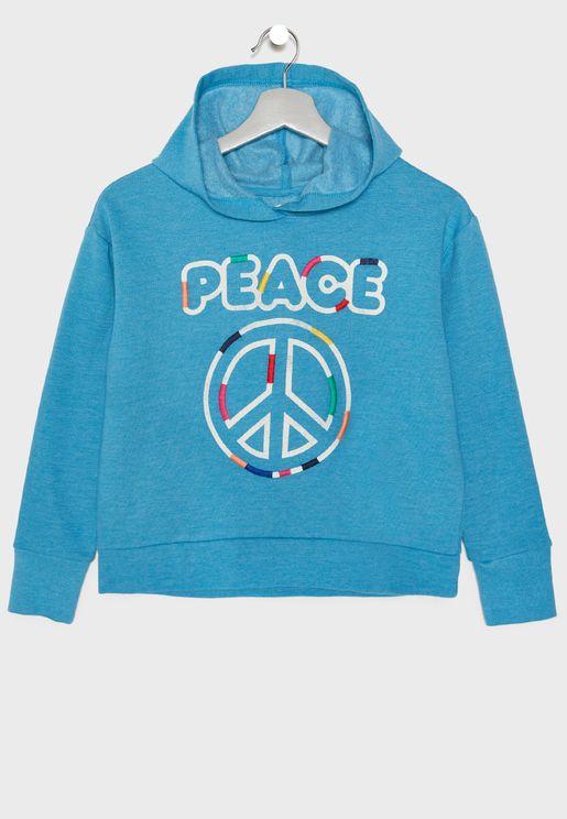 Kids Peace Hoodie
