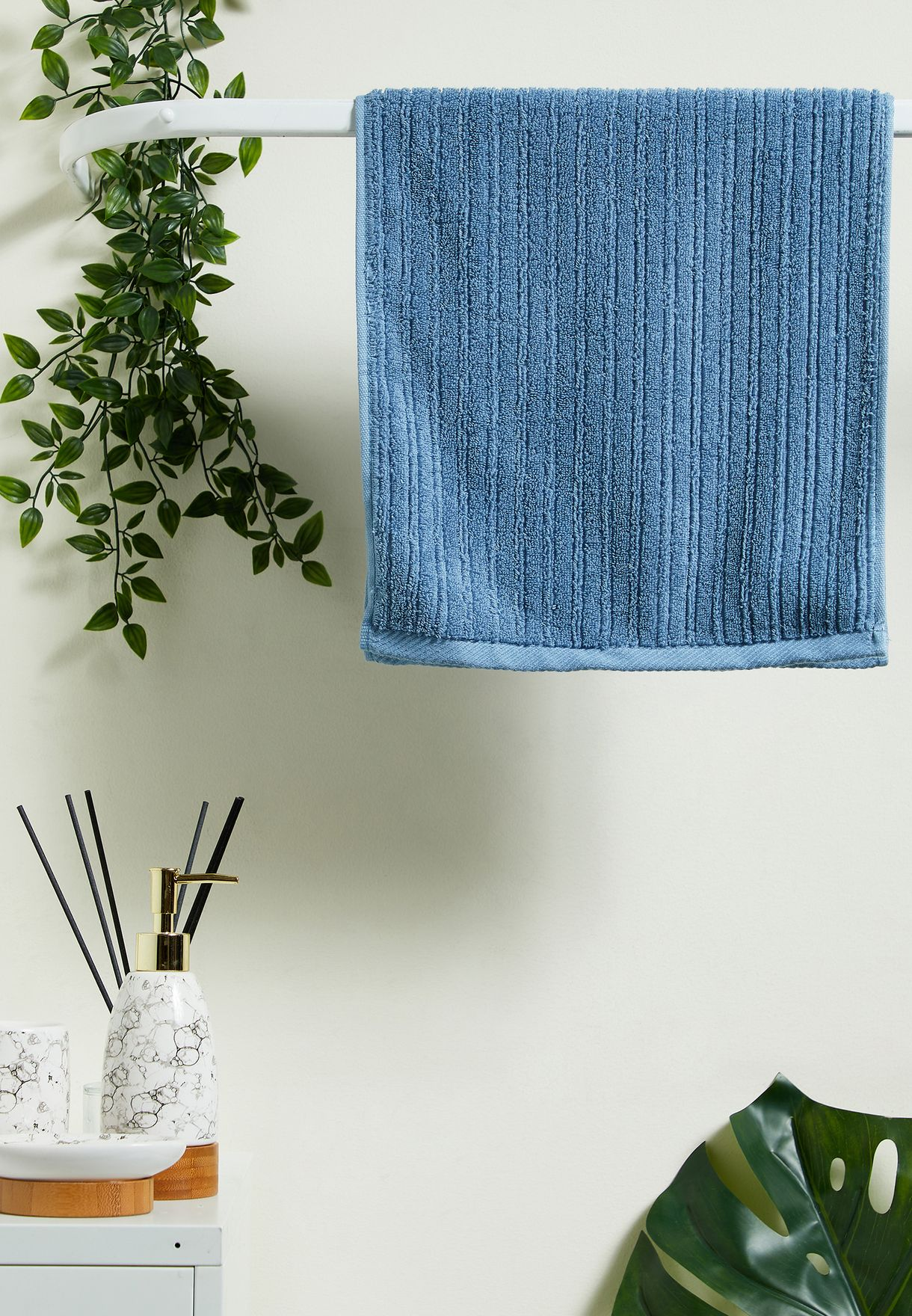 Blue Hand Towel