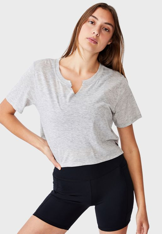 All Things Fabulous Cropped T-Shirt