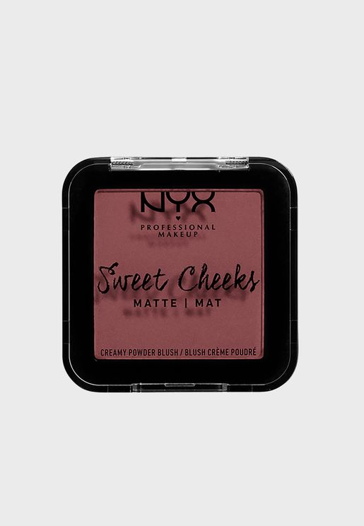 Sweet Cheeks Creamy Powder Blush -Fig