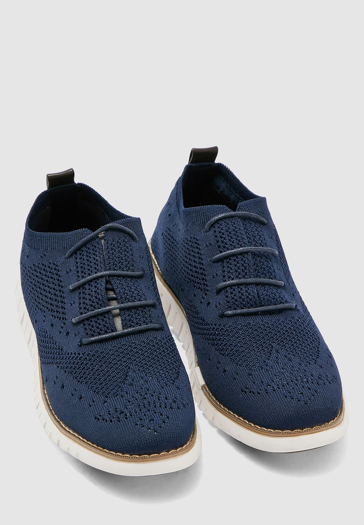Knitted Casual Lace Ups
