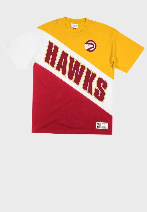 Atlanta Hawks Play By Play T-Shirt
