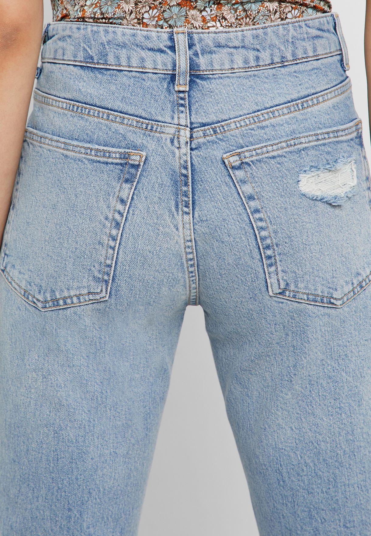 جينز ممزق