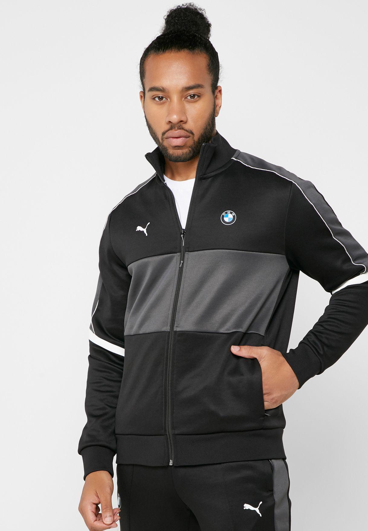 33650c71d53f Shop PUMA black BMW T7 Track Jacket 57778401 for Men in UAE ...