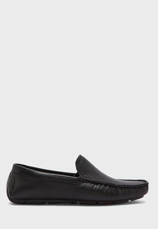 Faux Leather Loafers