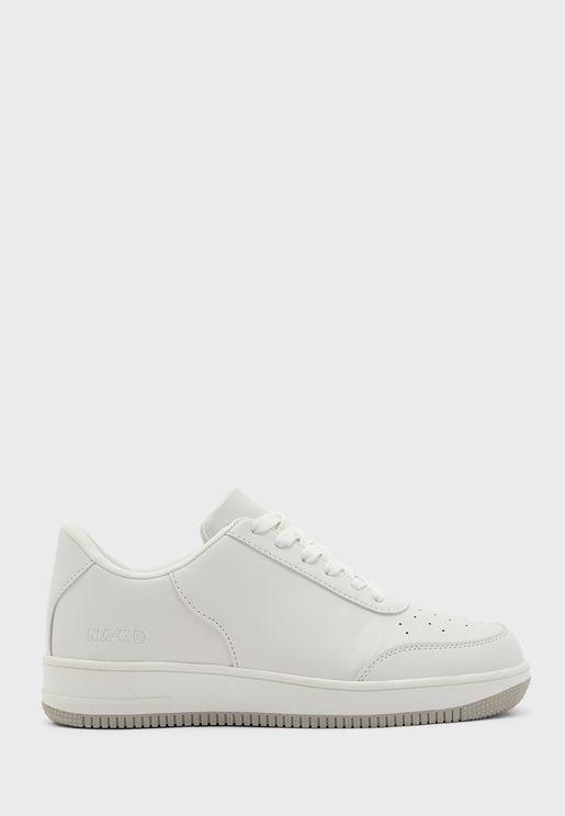 Basic Low Top Sneakers