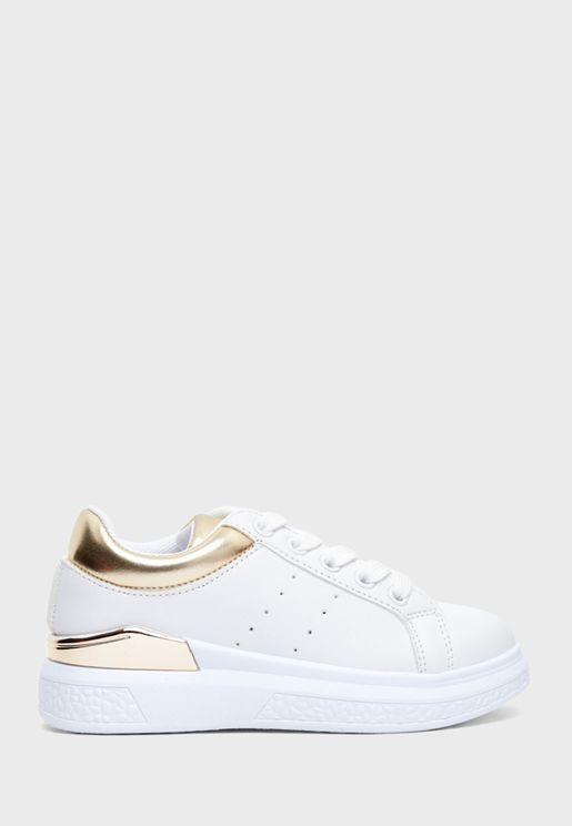 Youth Golden Collar Sneaker