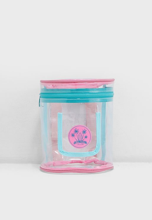 Kids Clear Bucket Bag