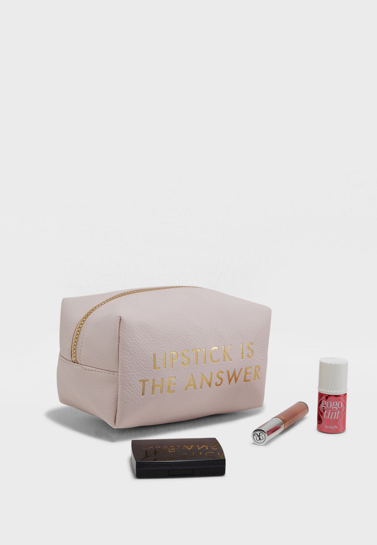 Lipstick Is The Answer Cosmetic Bag