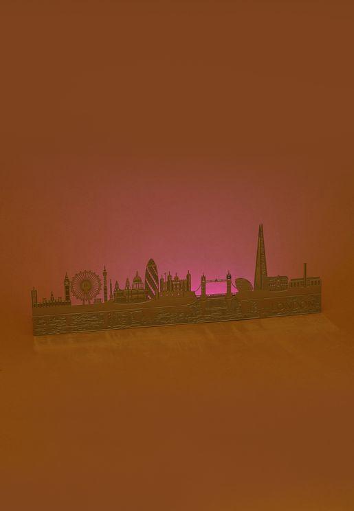 صندوق اضاءة ليد يعبر عن مدينة لندن