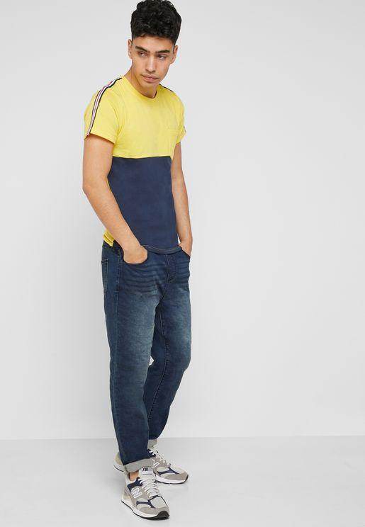 507a7c2e8c7 Dark Wash Jogger Jeans