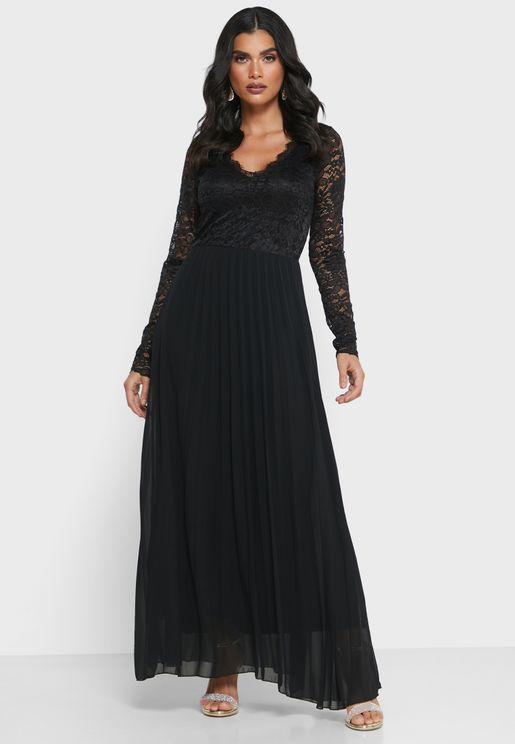 فستان دانتيل بليسيه
